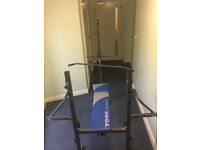 foldable weight bench as is