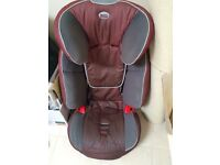 Britax Evolva car Seat 123 for children aged 4 and over