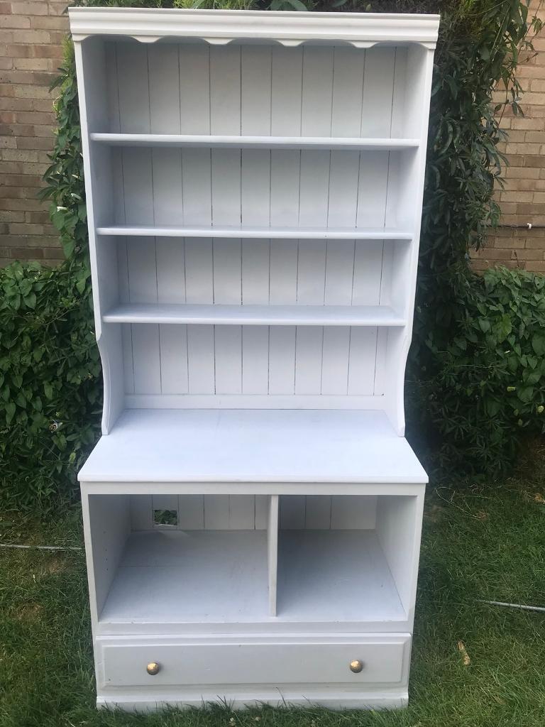 Bookshelf Dresser Solid Pine