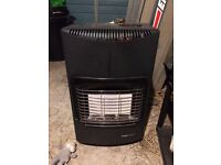 Heatforce II gas heater with nearly full bottle