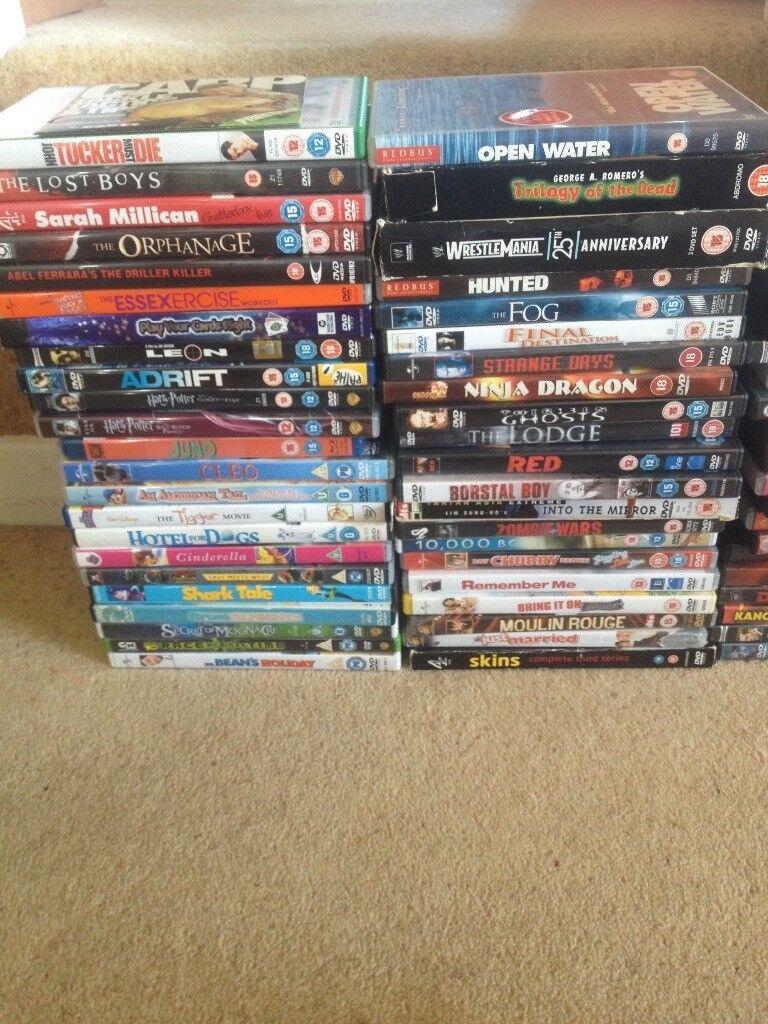 60 plus DVDs