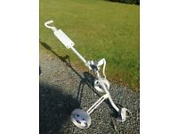 Lightweight Aluminium And Plastic Golf Trolley