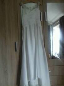 Alfred Angelo designer ivory wedding dress