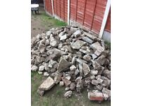 FREE Paving slabs and hardcore