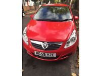 Vauxhall Corsa 59 Plate Petrol Manual Low Mileage - Cam belt Changed - Full Service History.