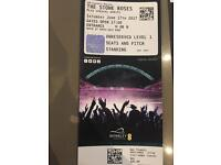 The STONE ROSES concert tickets