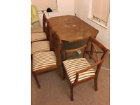 Dinning Table with 5 seater in good condition