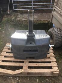 Tractor weight block Claas