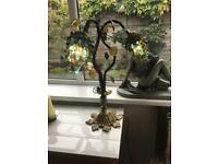 """Antique """"Murano"""" glass grape lamps circa 1920's"""