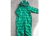 Paddle suit onesie snow suit fleece lined worn once from Debenhams