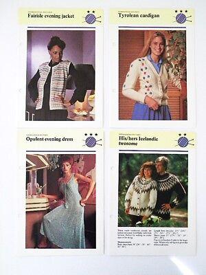 Винтажные 1980s Knitting Pattern from the