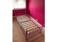 Child's single bed frame for sale