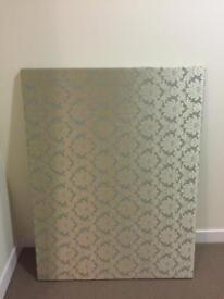 Stunning Large Canvas/Wall Art/Fabric board