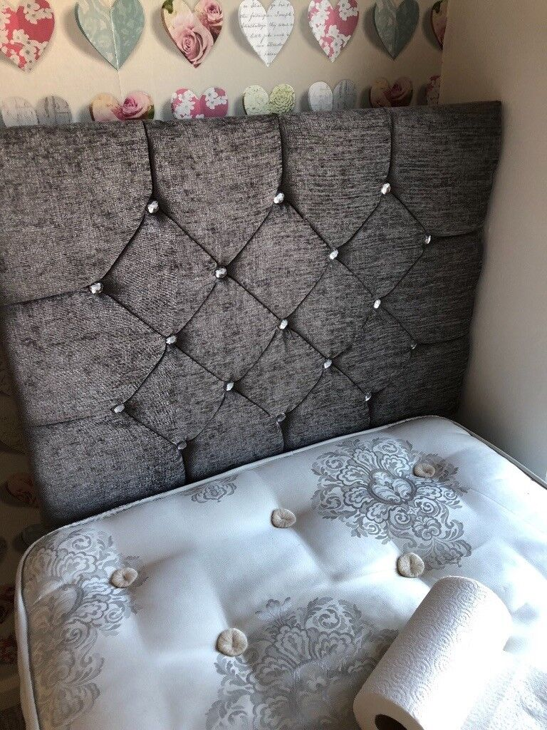 check out 8403b f1110 Grey single bed headboard | in Weymouth, Dorset | Gumtree