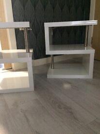 High gloss tables