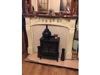Fire surround - shabby chic project
