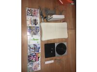 Wii bundle - Wii fit/ DJ Hero/ Wii Games and Wii console