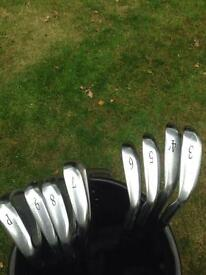 Mens left handed Mizuno MX20 irons