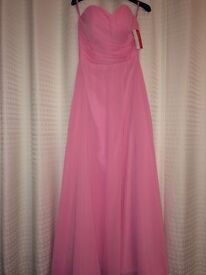 Pink Bridesmaid or Prom or Evening Dress