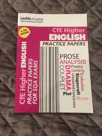 Higher English Practice Papers