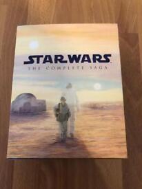 Star Wars Complete Saga Blu Ray box set