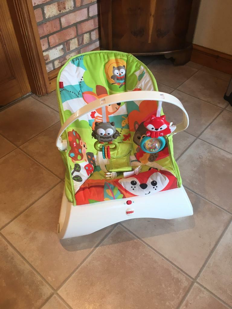 Fisher Price baby bouncer.