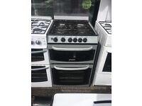 CANNON 55CM ALL GAS COOKER IN SILIVER
