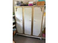 Triple solid wood wardrobe!! ** REDUCED **