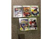 Xbox 360 games x 5