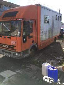 7.5ton Iveco horse box