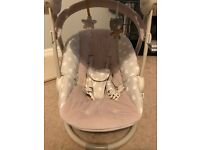Mamas & Papas starlight swing in grey, hardly used less than 12months old.