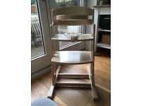 BabyDan wooden Highchair like Stokke
