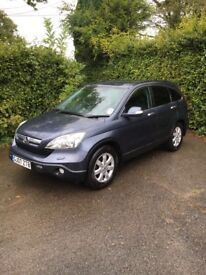 Honda CR-V 2.2 diesel low mileage super comdition
