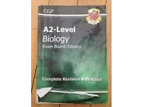 CGP A2 level Edexcel biology complete revision and practice