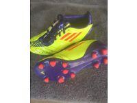Junior Football Boots size 1 Adidas F50