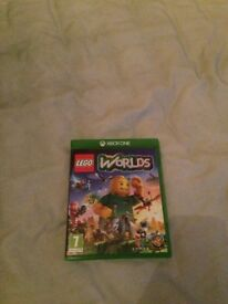 XBOX ONE - Lego Worlds Game - Practically Brand New - Opened once!! (Fantastic Condition)