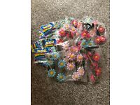 Flower Hairbands and Mini Bubbles - perfect party bag favours