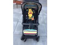 3 in 1 travel system / winnie the pooh /pushchair /car seat/travel cot