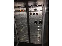 2X Osborne large drinks fridge