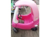 Little Tikes Pink Cosy Coupe