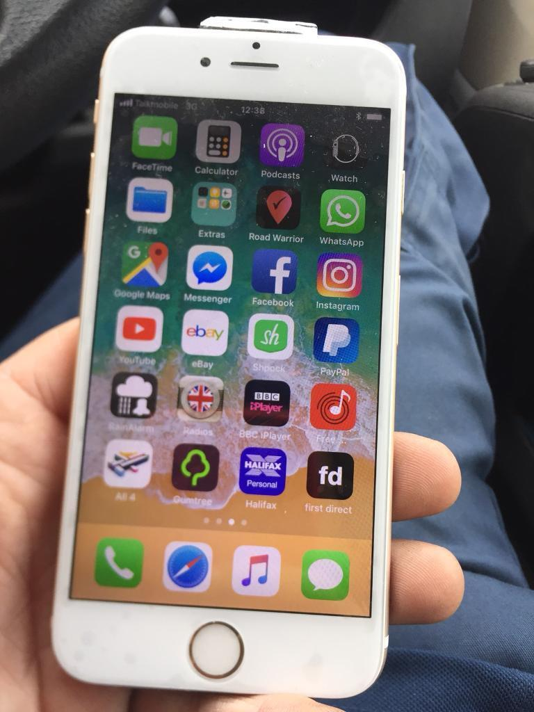 iPhone 6 on Vodafone and talk mobile 16gb