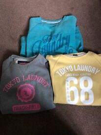 3 x Tokyo Laundry Sweaters size 10