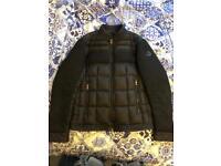 Moncler jacket black size medium