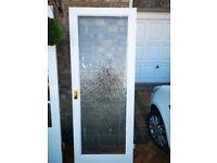 """30"""" internal glass door. Vintage"""