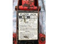 Car trolley jack