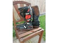 ikon motocross boots 10