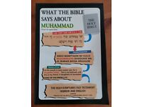 *free* what the Bible says about Muhammad (peace be upon him) booklet