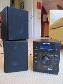 Bush NE-8061 10w DAB CD Micro Hi-Fi System - Black