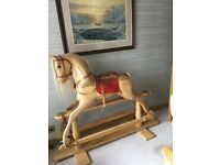 Authentic Hand Made Rocking Horse