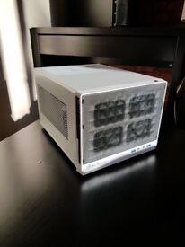 Mini ITX Gaming PC - Great Specs I3 6100 / RX 470 8GB 3200MHz RAM 2TB HDD Win 10